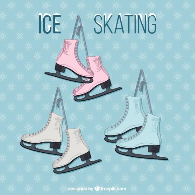 Ice Skating Set