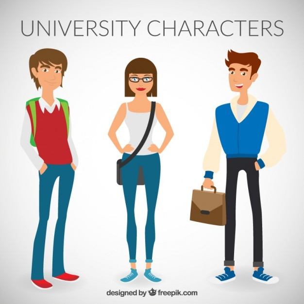 University characters