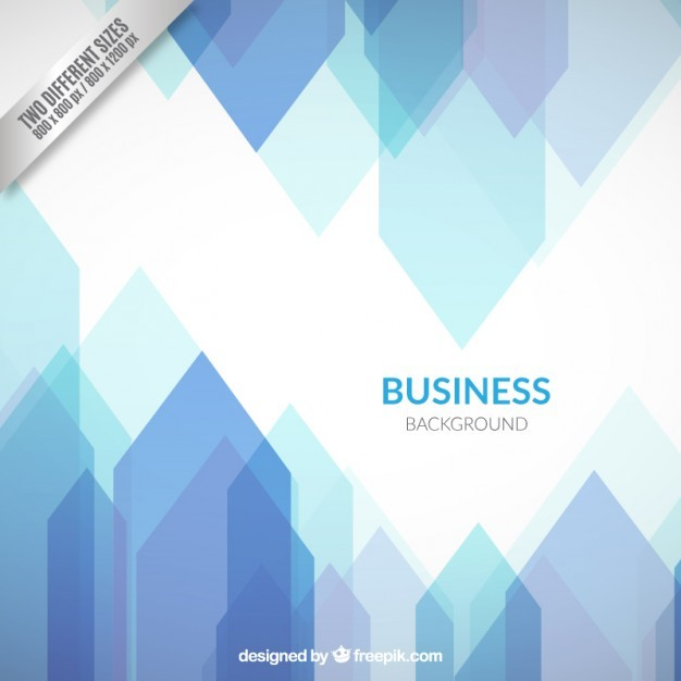 Business background in blue tones
