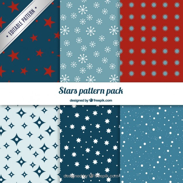 Stars patterns pack