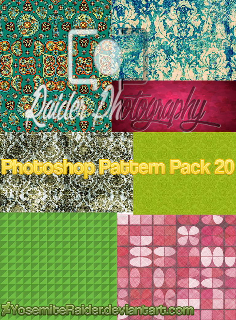 Photoshop Pattern Pack (20)