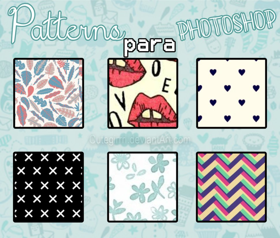 Patterns By cuteGirrl