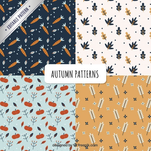 Cute natural patterns