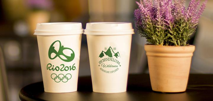 Coffee Cup Branding Mock up
