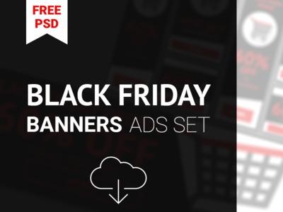 BlackFriday Ads PSD Banners