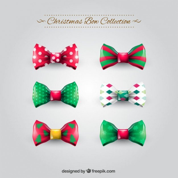 Christmas bows collection