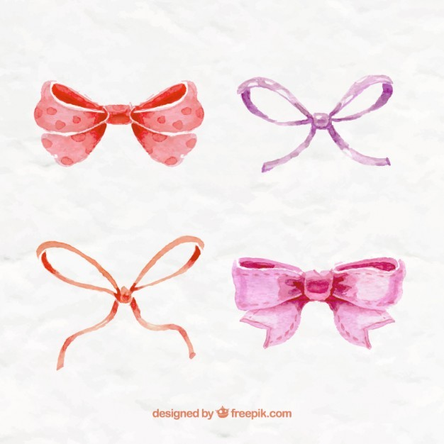 http://www.freepik.com/free-vector/hand-painted-bows-collection_798076.htm#term=リボン&page=3&position=12