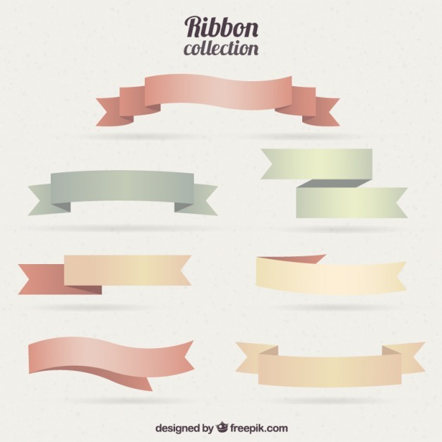 Colorful Ribbon Collection