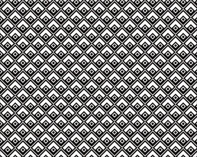 菱模様(黒)
