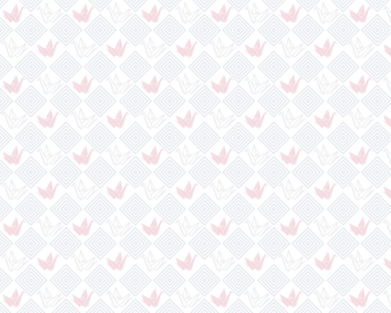 折鶴 菱 (薄紅)
