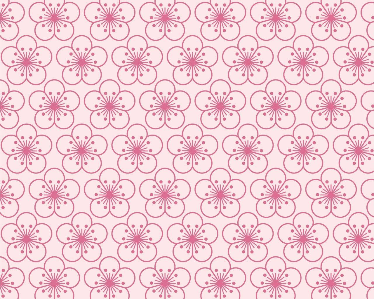 桜文様(ピンク)