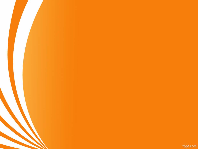 Orange Curve Keynote Template