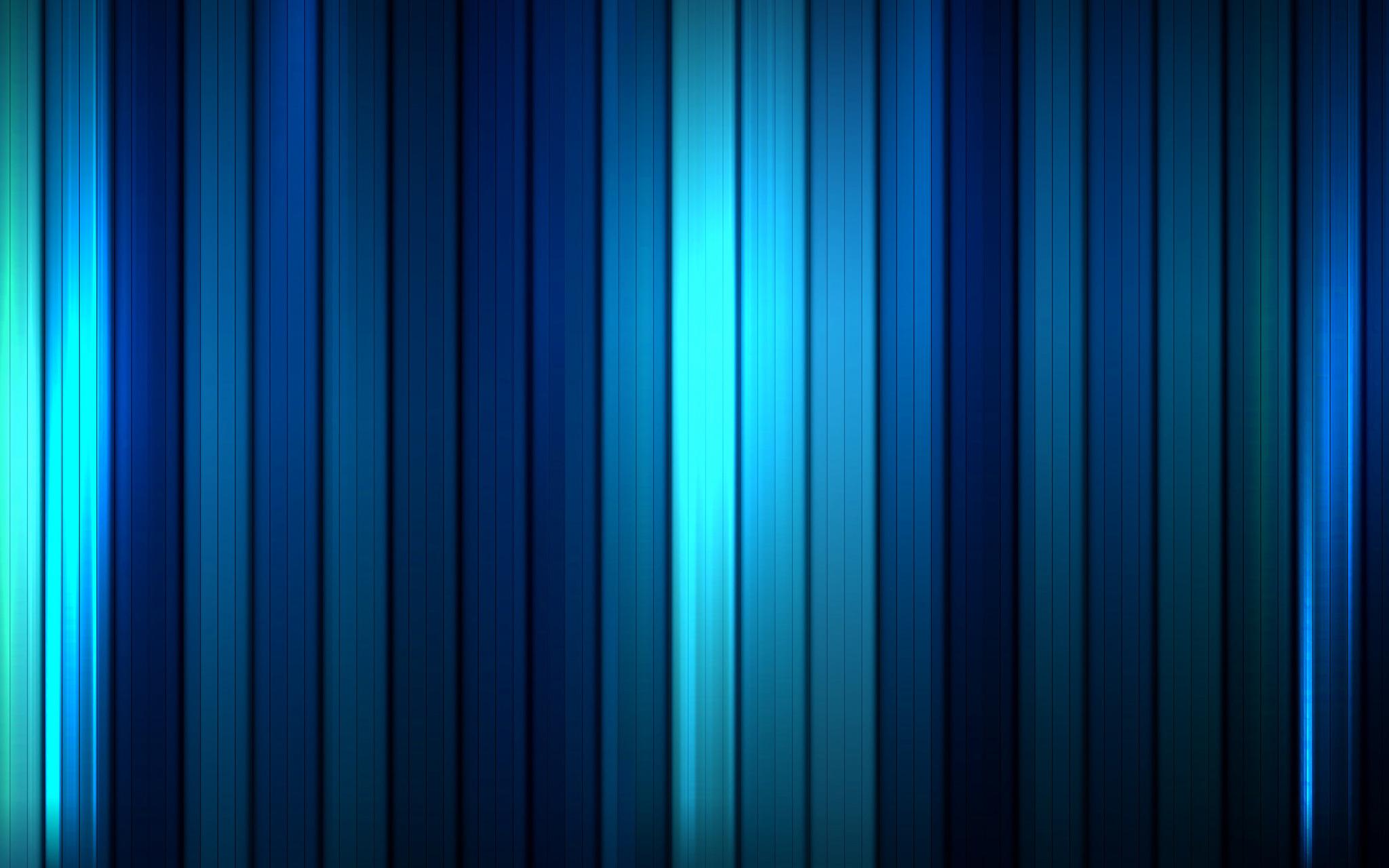 Blue Stripes Presentation Template for Keynote