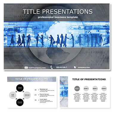 Sociology behavior of people Free Keynote themes | templates