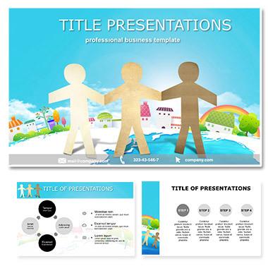 Human Togetherness Keynote templates