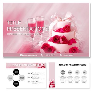 Wedding cake Keynote templates - themes
