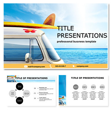 Travel Project Keynote Template