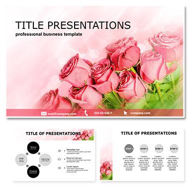 Roses Greeting Keynote Template
