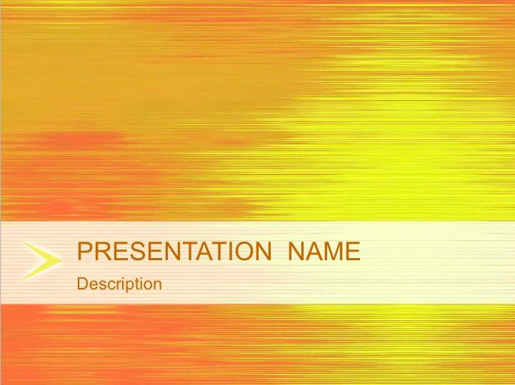 Sunset Reflection Keynote Template