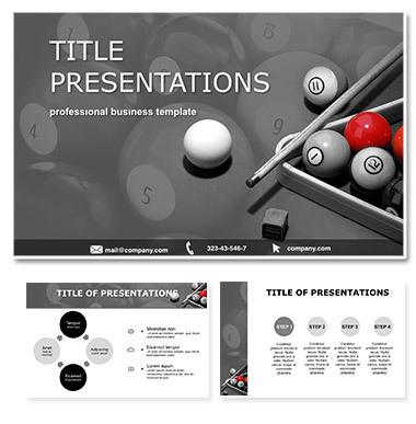 Billiards Keynote templates