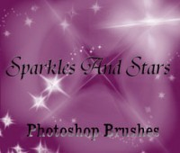 sparkles and stars free brushes