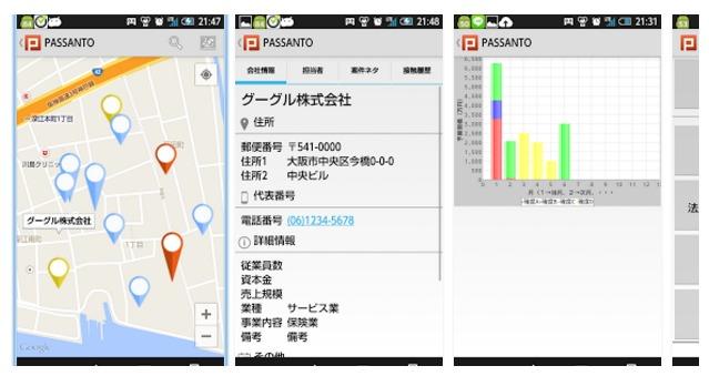 営業・顧客管理アプリ決定版!~ PASSANTO ~