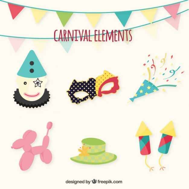 Carnival ornaments pack