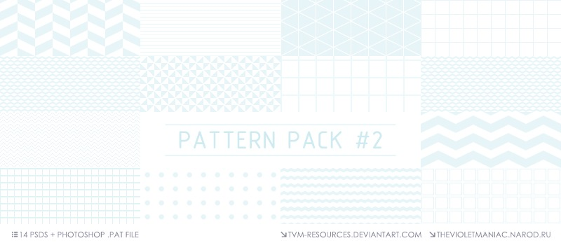 PATTERN PACK #2/+PAT FILE