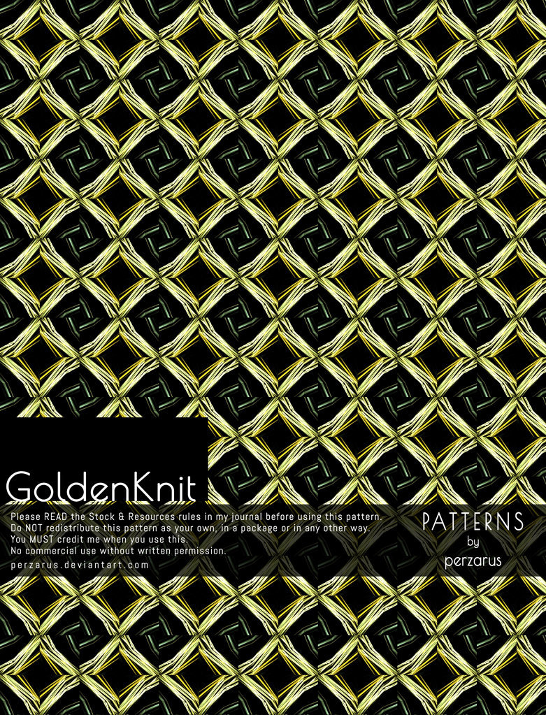 Pattern: Golden Knit
