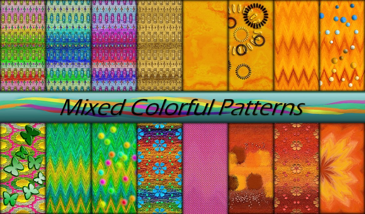 Mixed Colorful Patterns