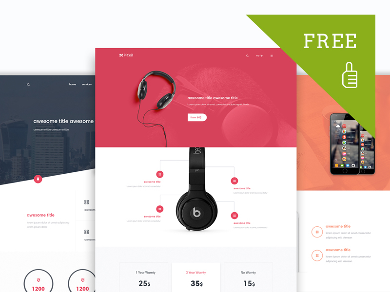 Product Marketing UI Pack