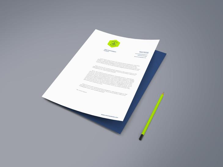 A4 Paper PSD Mockup Vol.2