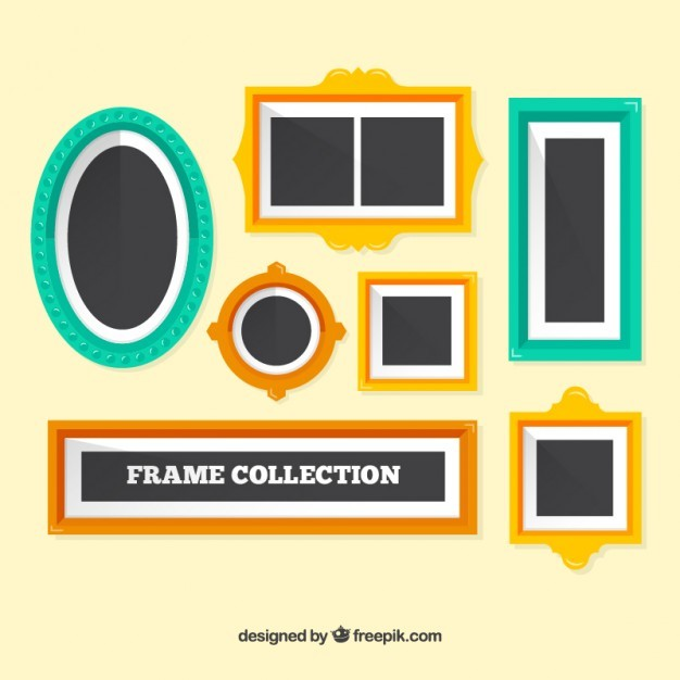 Colors frame collection