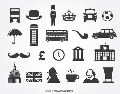 22 United kingdom icons