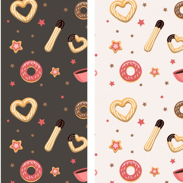 Churros and Donuts Pattern
