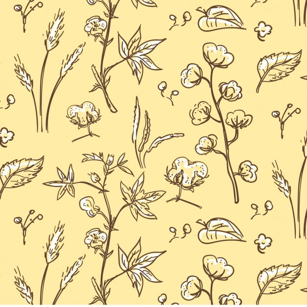 Cotton Plant Pattern