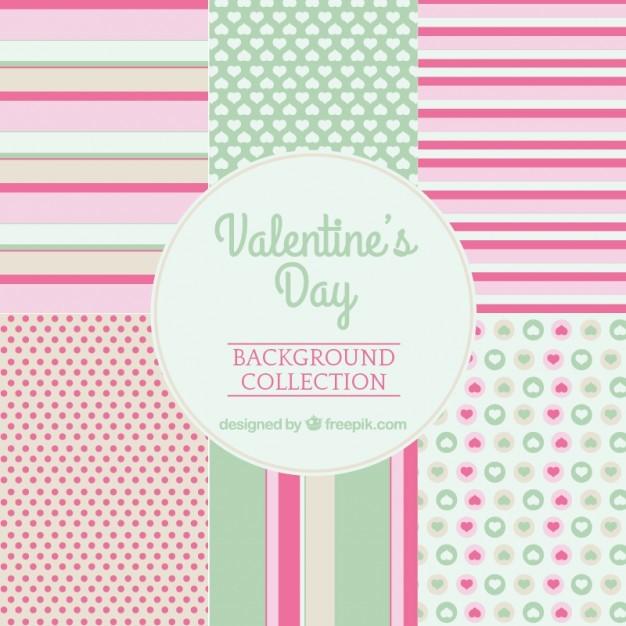 Valentine's day cute patterns