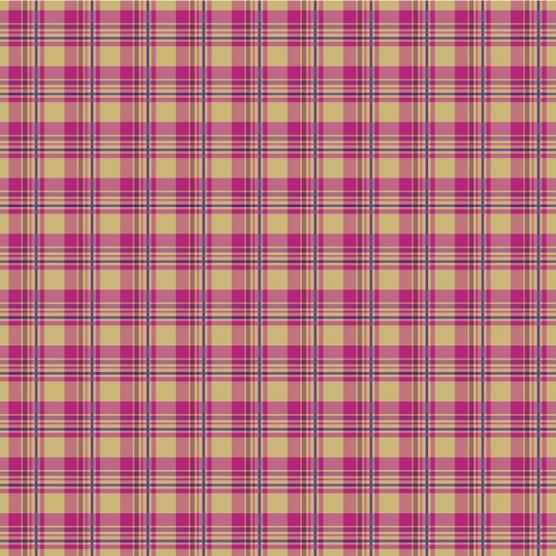 Pink Plaid Pattern