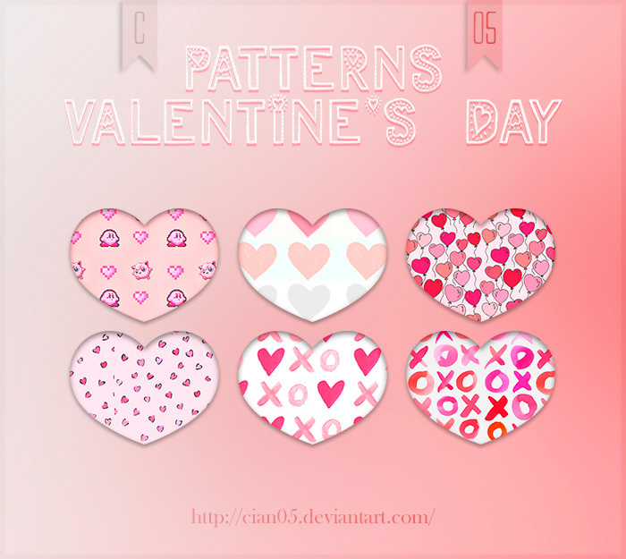 Pattern Valentine's Day [Cian05]
