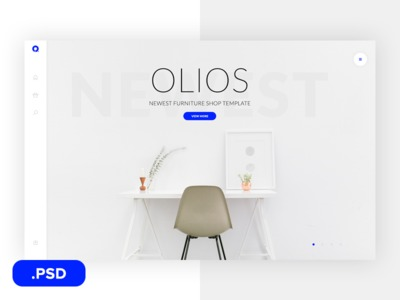 Olios Free PSD Template