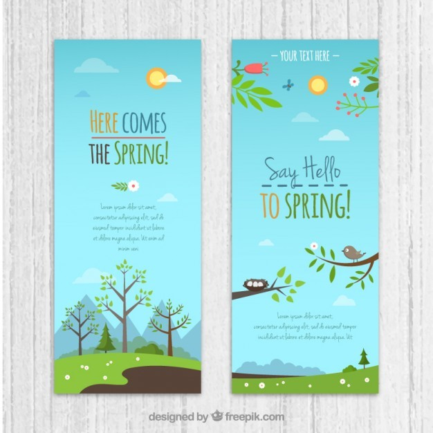 Countryside banners pack