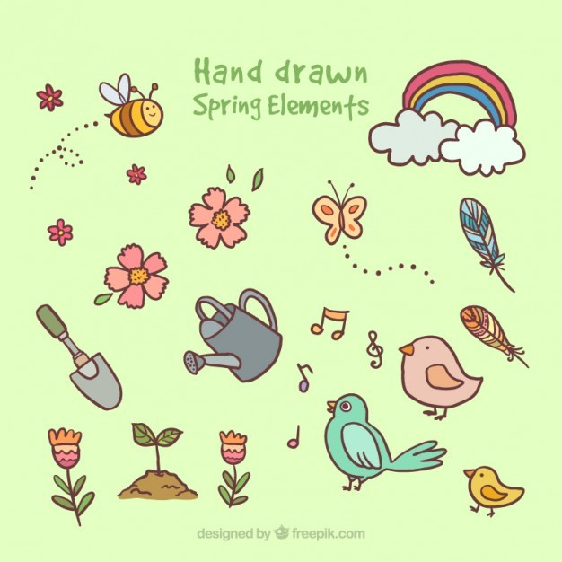 Drawings spring elements