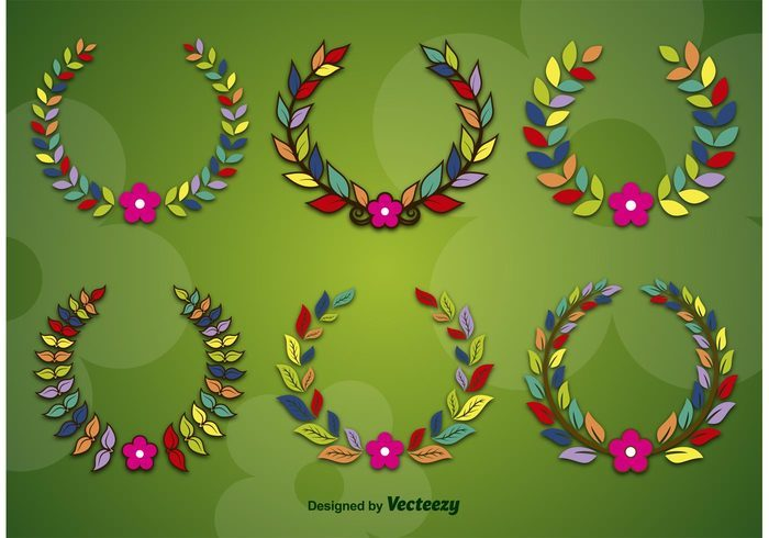 Spring and Flower Wreaths