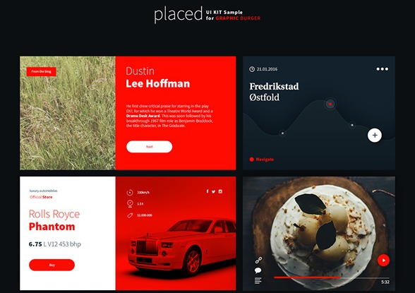 Placed UI Kit – Free Sample