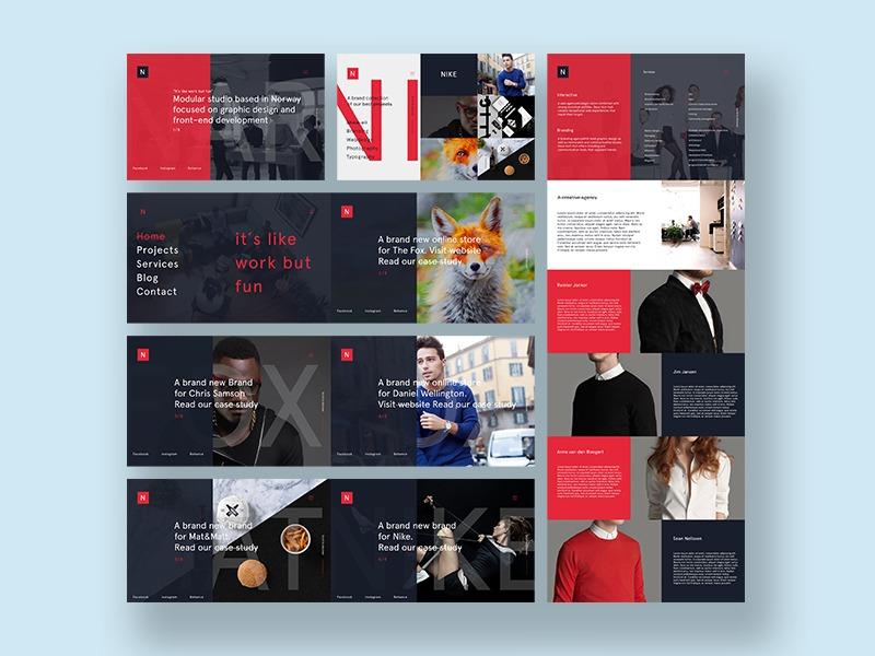 Minimalist Agency Psd Template