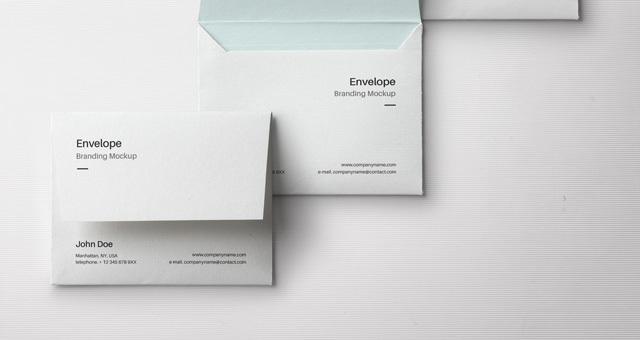 Envelope Letter Psd Mockup Vol3