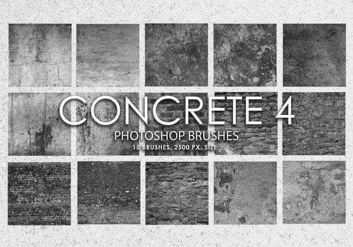 Free Concrete Photoshop Brushes 4