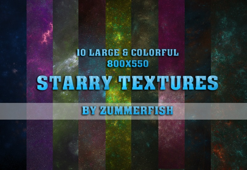 Starry textures