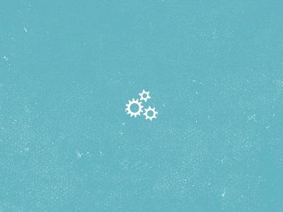 Little Gears Preloader (GIF)