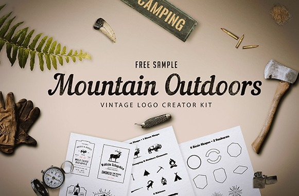 Mountain Outdoor Logo Kit – Free Sample